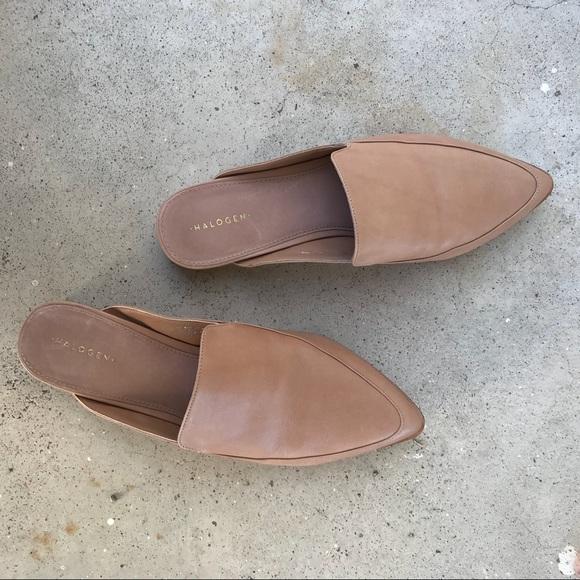 7df0d5f1ce6 Halogen Shoes - Halogen Corbin Mule in Wheat Leather